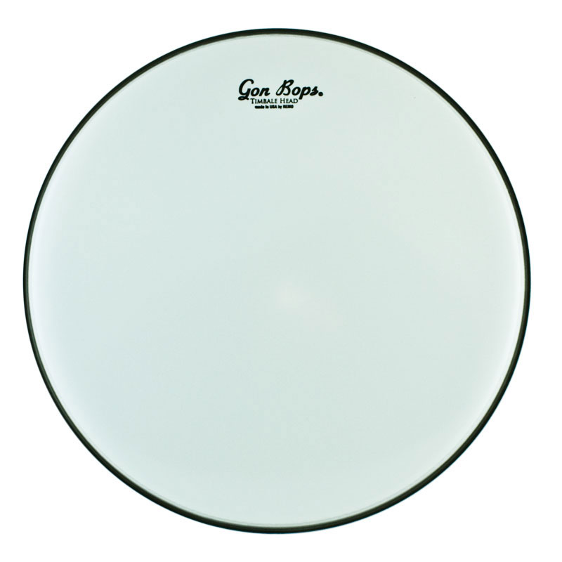 "Gon Bops Remo 12"" Smooth White Timbale Head"