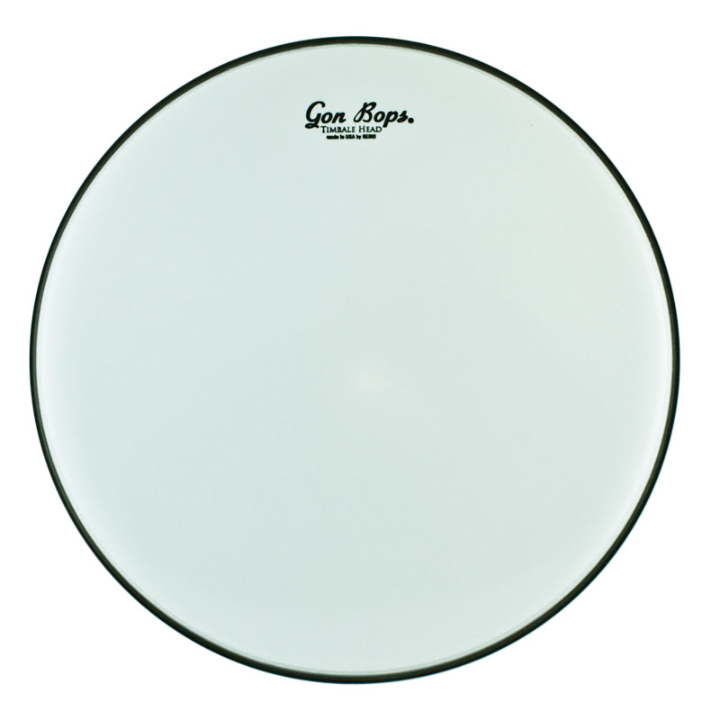 "Gon Bops Remo 15"" Smooth White Timbale Head"