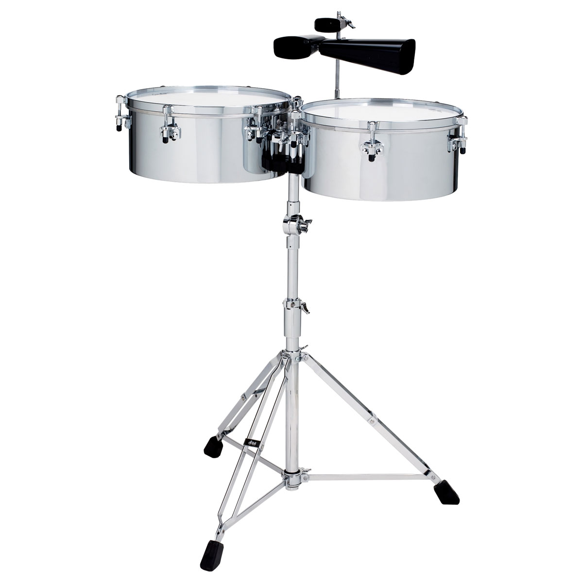 "Gon Bops 14/15"" Tumbao Chrome Over Steel Timbales"
