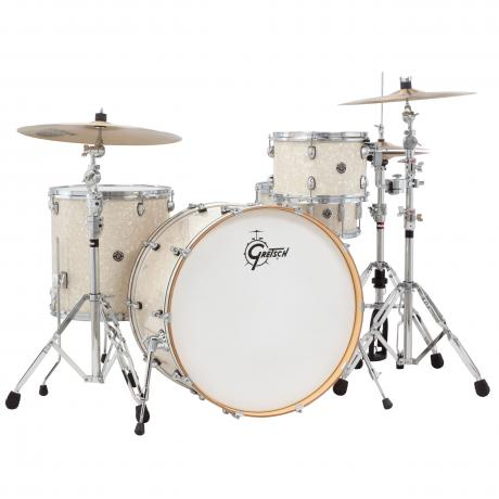 gretsch catalina club rock 4 piece drum set shell pack 24 bass 12 16 toms 14 snare wrap. Black Bedroom Furniture Sets. Home Design Ideas