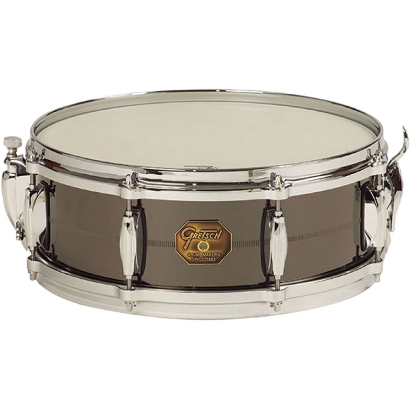 "Gretsch 5"" x 14"" USA Metal Solid Steel Snare Drum"