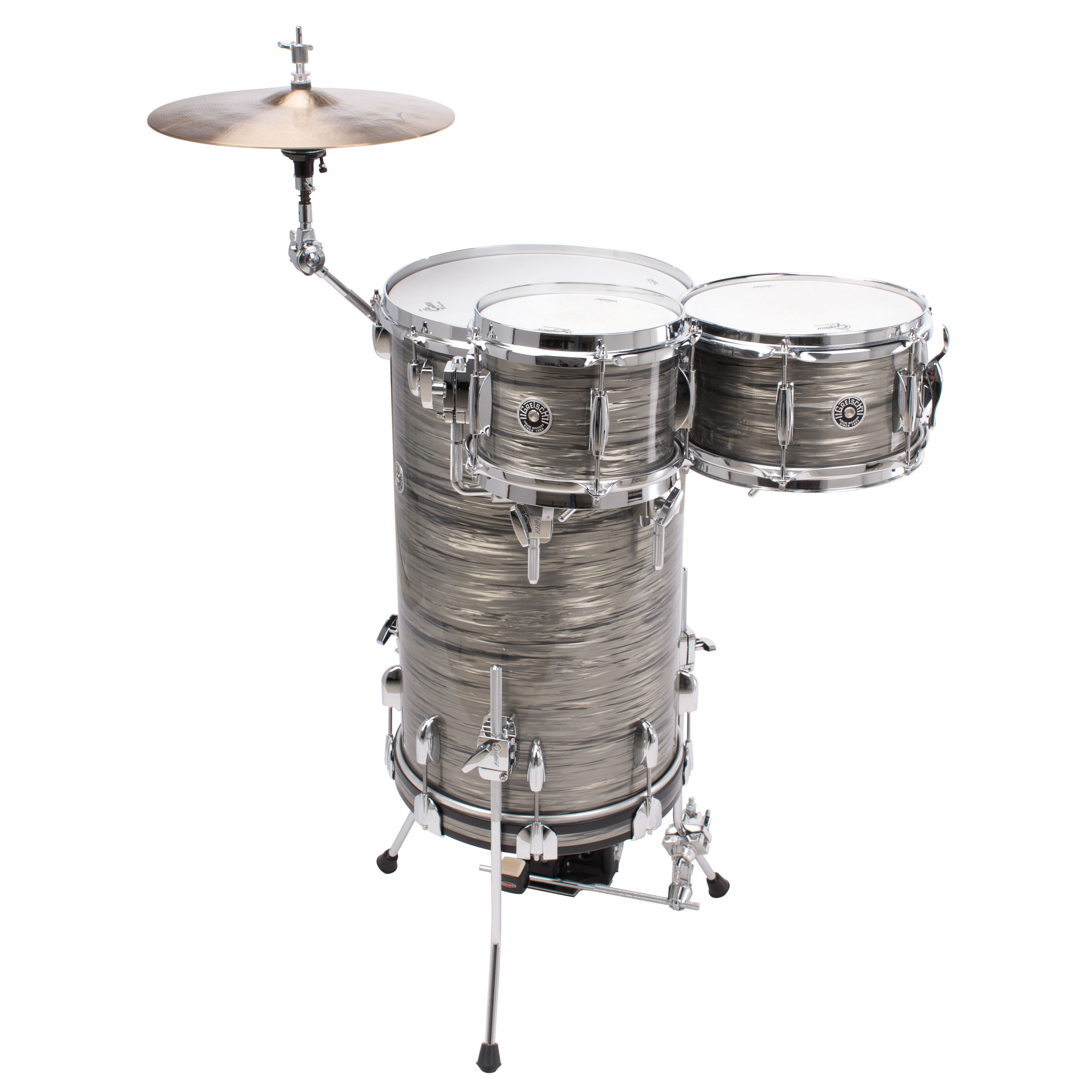 how to make a drum set for school project