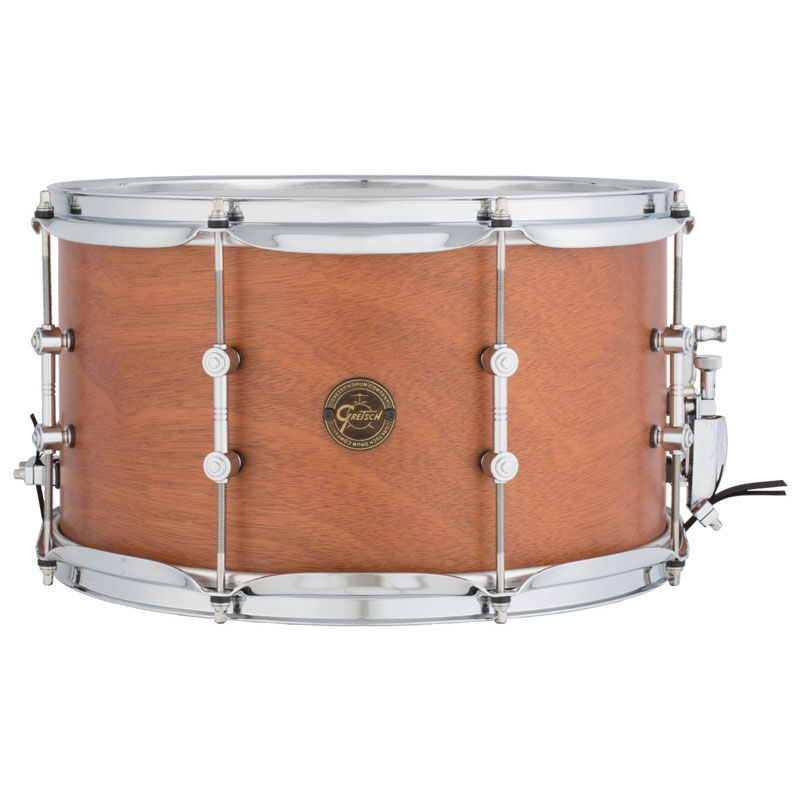 "Gretsch 8"" x 14"" Full Range Swamp Dawg Mahogany Snare Drum"