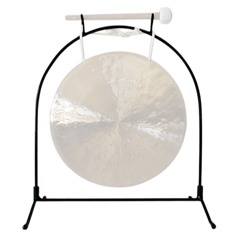 "Han Chi 2 Piece Stand; 16-18"" Gong"