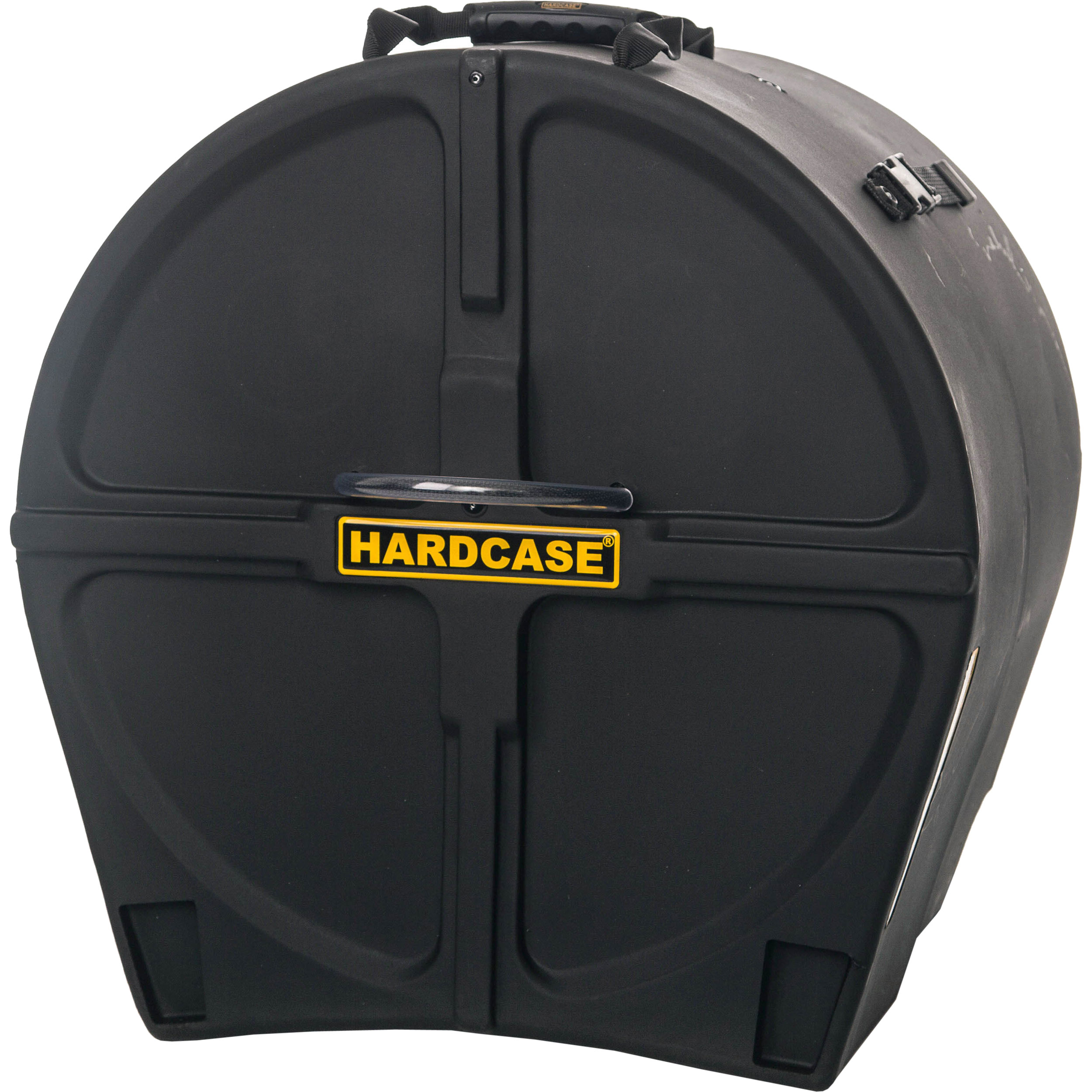 "Hardcase 18"" (Diameter) x 16-to-20"" (Deep) Bass Drum Case with Wheels"