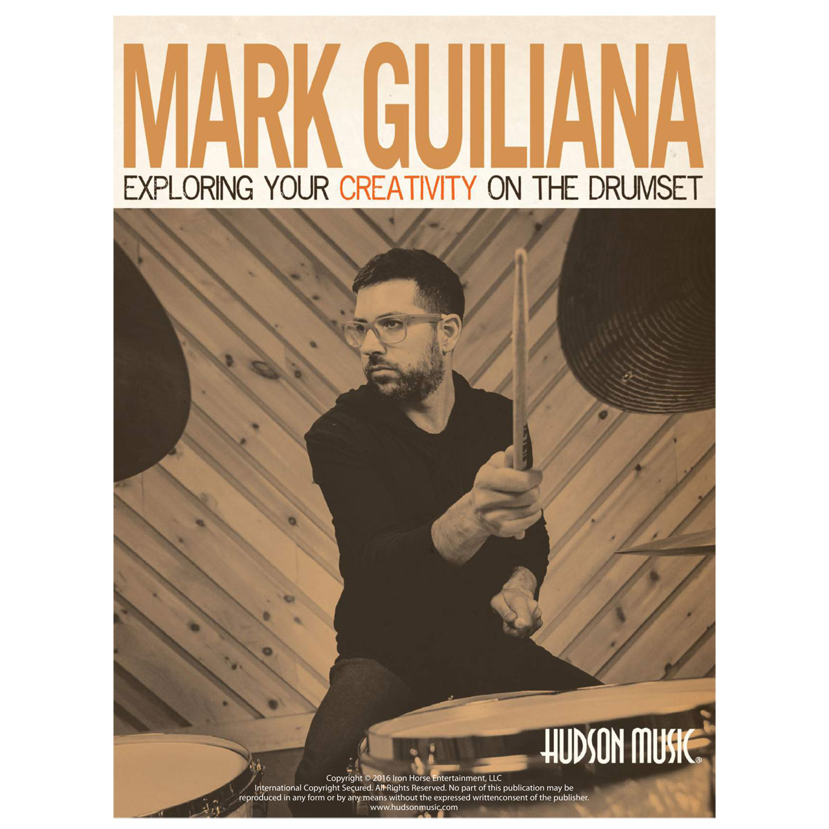Exploring Your Creativity on the Drumset by Mark Guiliana (Book & DVD)
