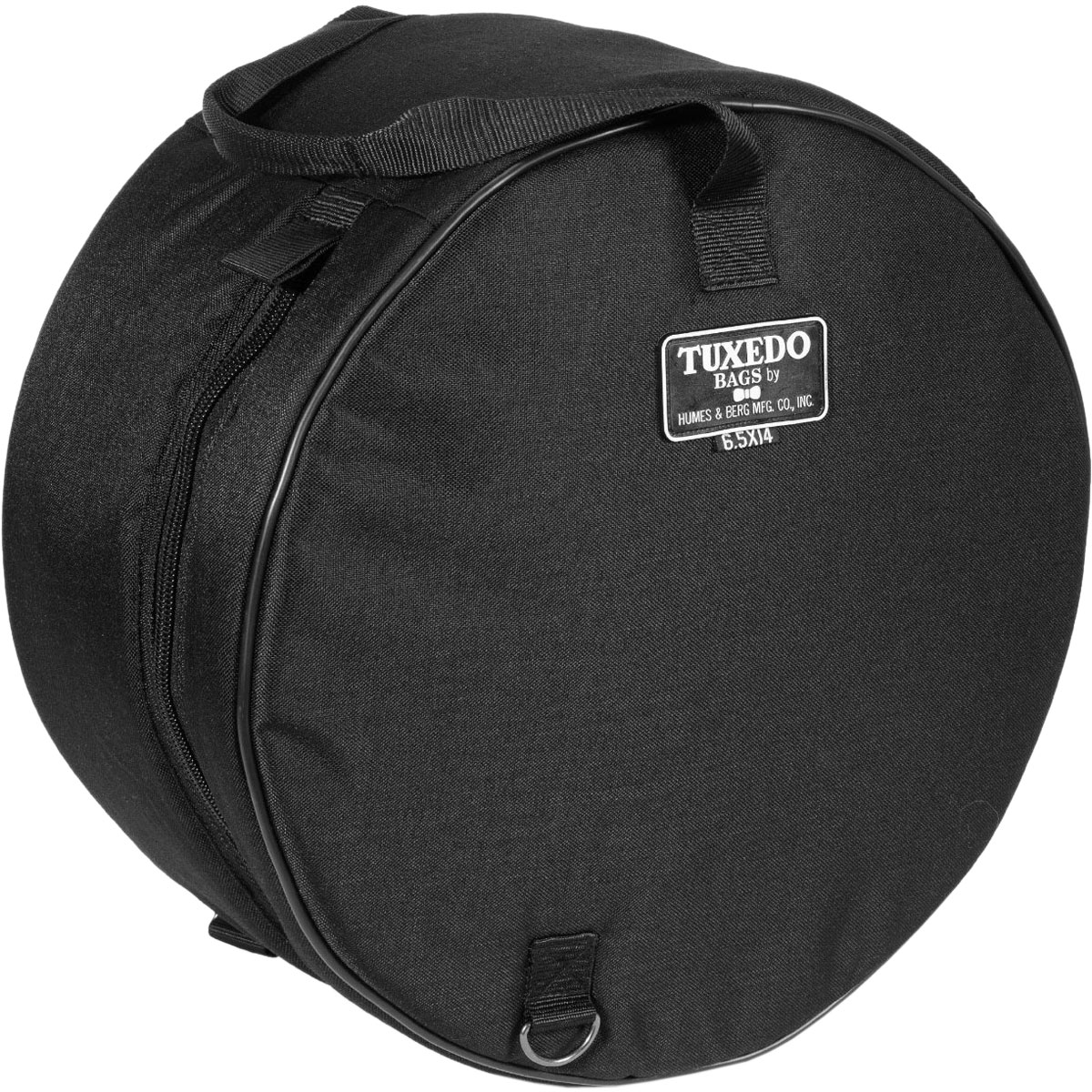 "Humes & Berg 5.5"" (Deep) x 14"" (Diameter) Tuxedo Snare Bag/Soft Case"