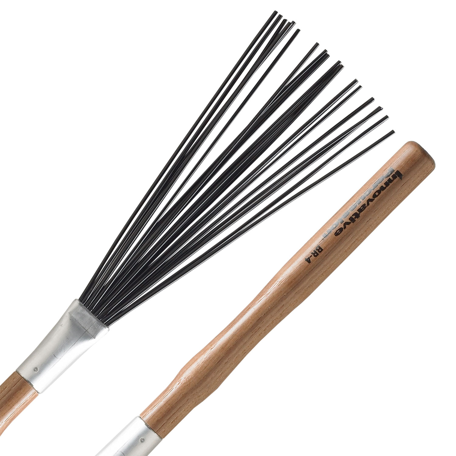 Innovative Percussion Heavy Nylon Brushes with Medium Handles