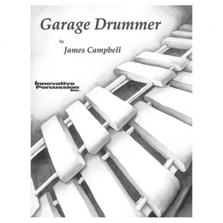 Garage Drummer by James Campbell