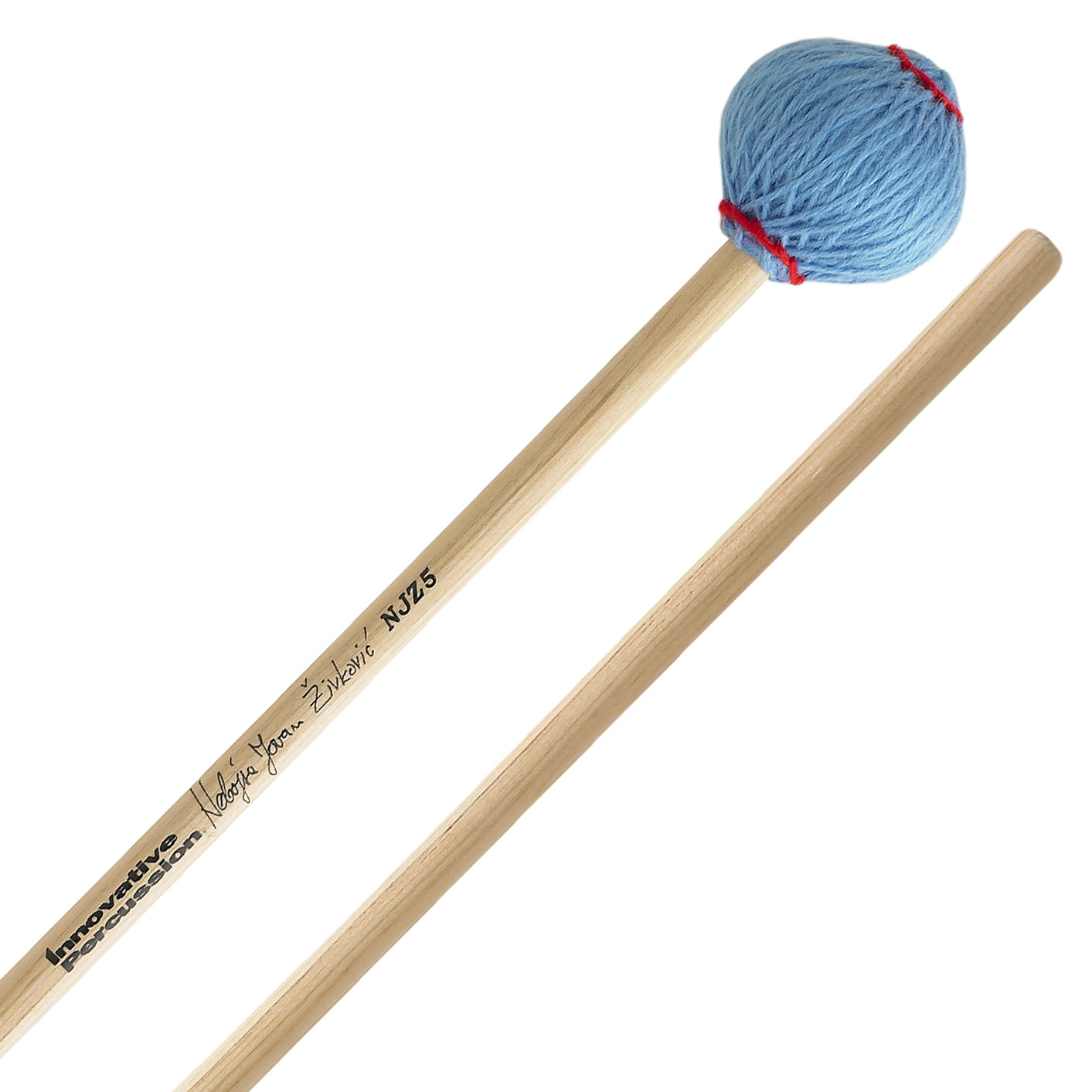 Innovative Percussion Nebojsa Zivkovic General Signature Hard Marimba Mallets with Cedar Shafts