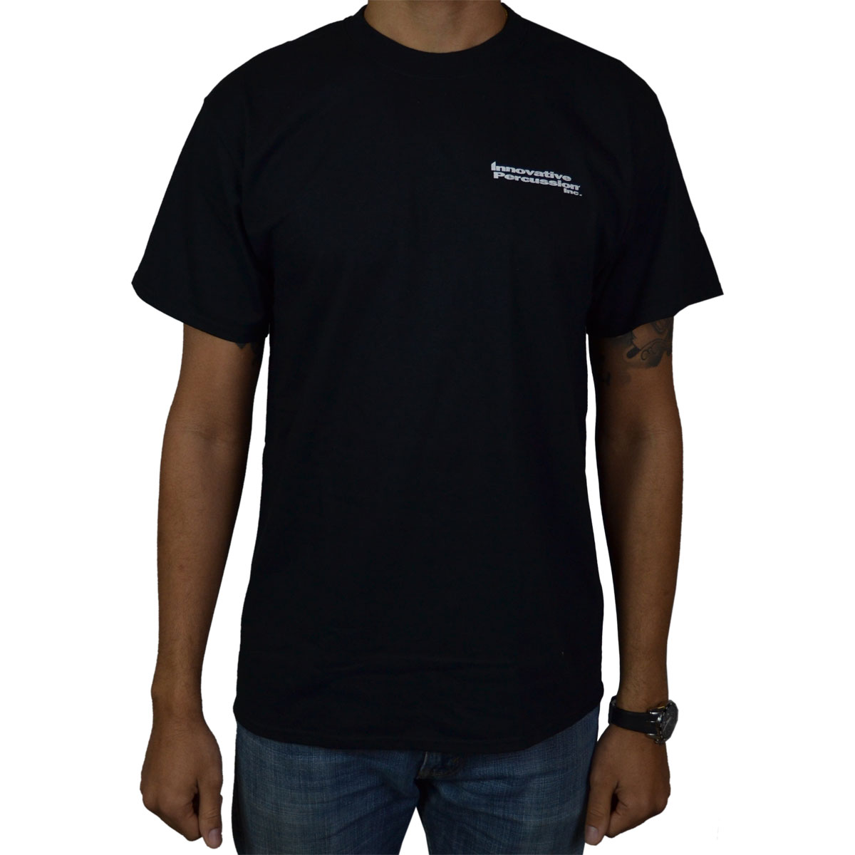 Innovative Percussion Black Short Sleeve T-Shirt