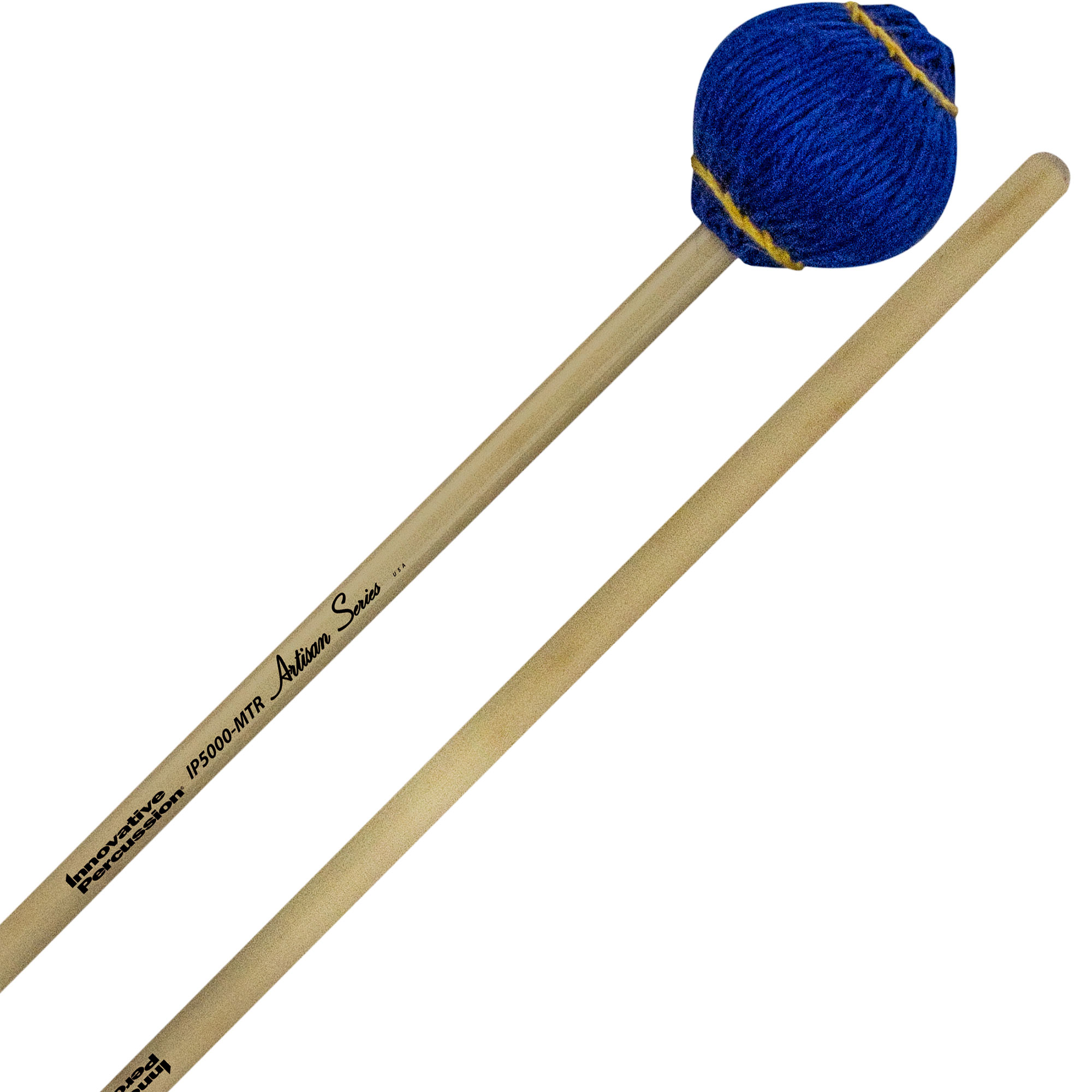 Innovative Percussion Artisan Series Multi-Tone Marimba Mallets with Rattan Handles