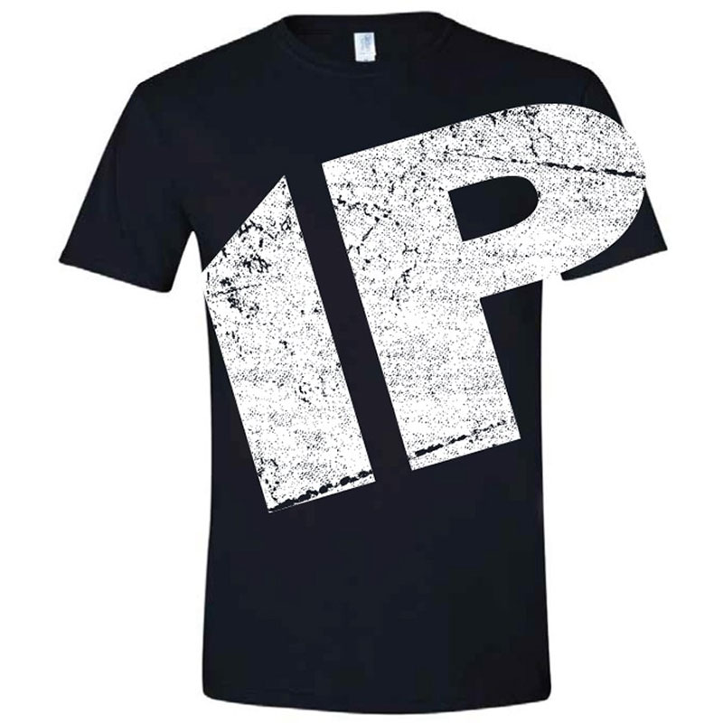 Innovative Percussion Black Short Sleeve Oversized Logo T-Shirt