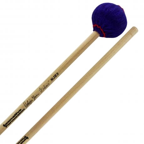 Innovative Percussion Nebojsa Zivkovic Signature General Soft Marimba Mallets with Rattan Shafts