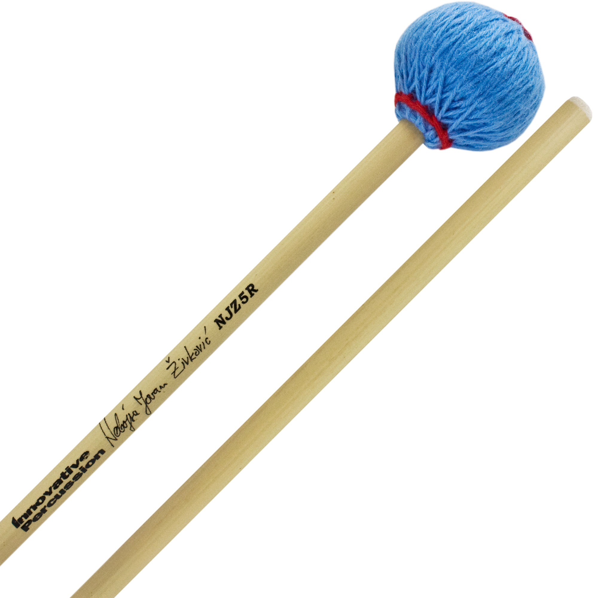Innovative Percussion Nebojsa Zivkovic General Signature Hard Marimba Mallets with Rattan Shafts