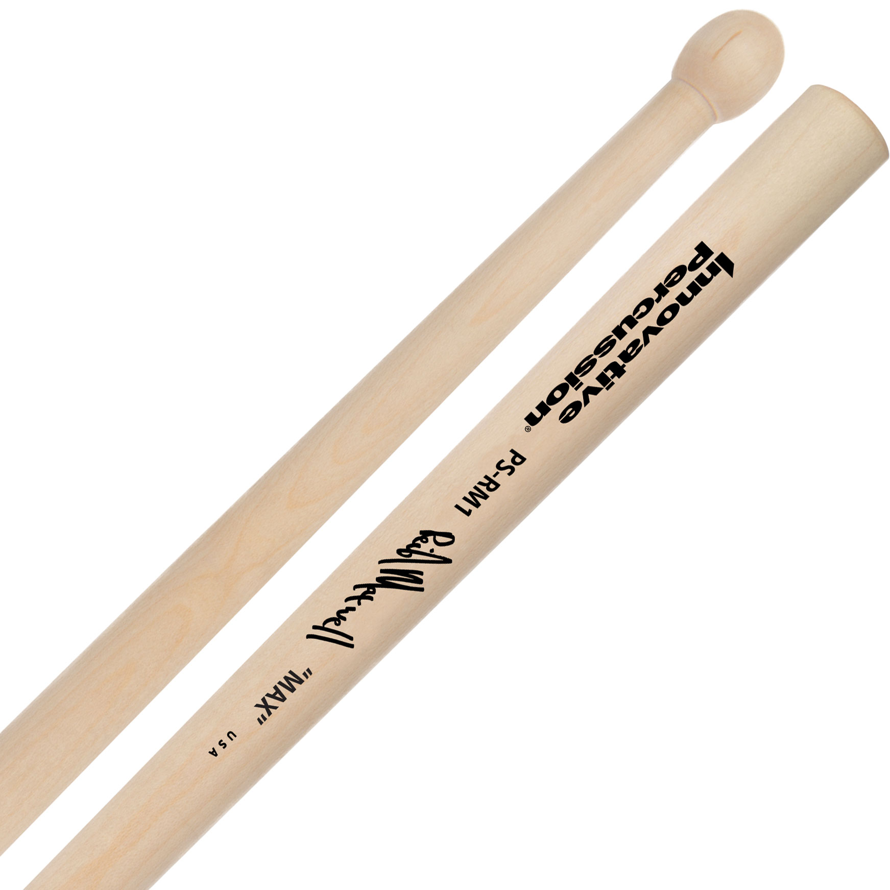 "Innovative Percussion J. Reid Maxwell MSR Series ""Max"" Pipe Band Drum Sticks"