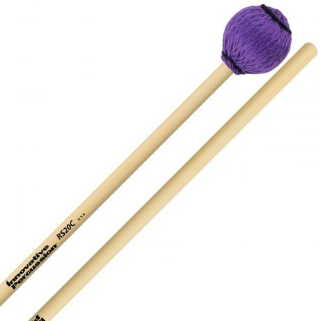 Innovative Percussion RS20C Rattan Series Medium Marimba/Vibraphone Cord Mallets