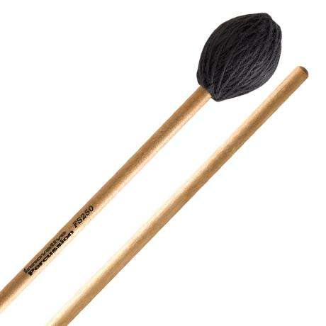 Innovative Percussion FS250 Field Series Hard Marimba Mallets with Birch Shafts