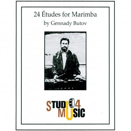 24 Etudes for Marimba by Gennady Butov