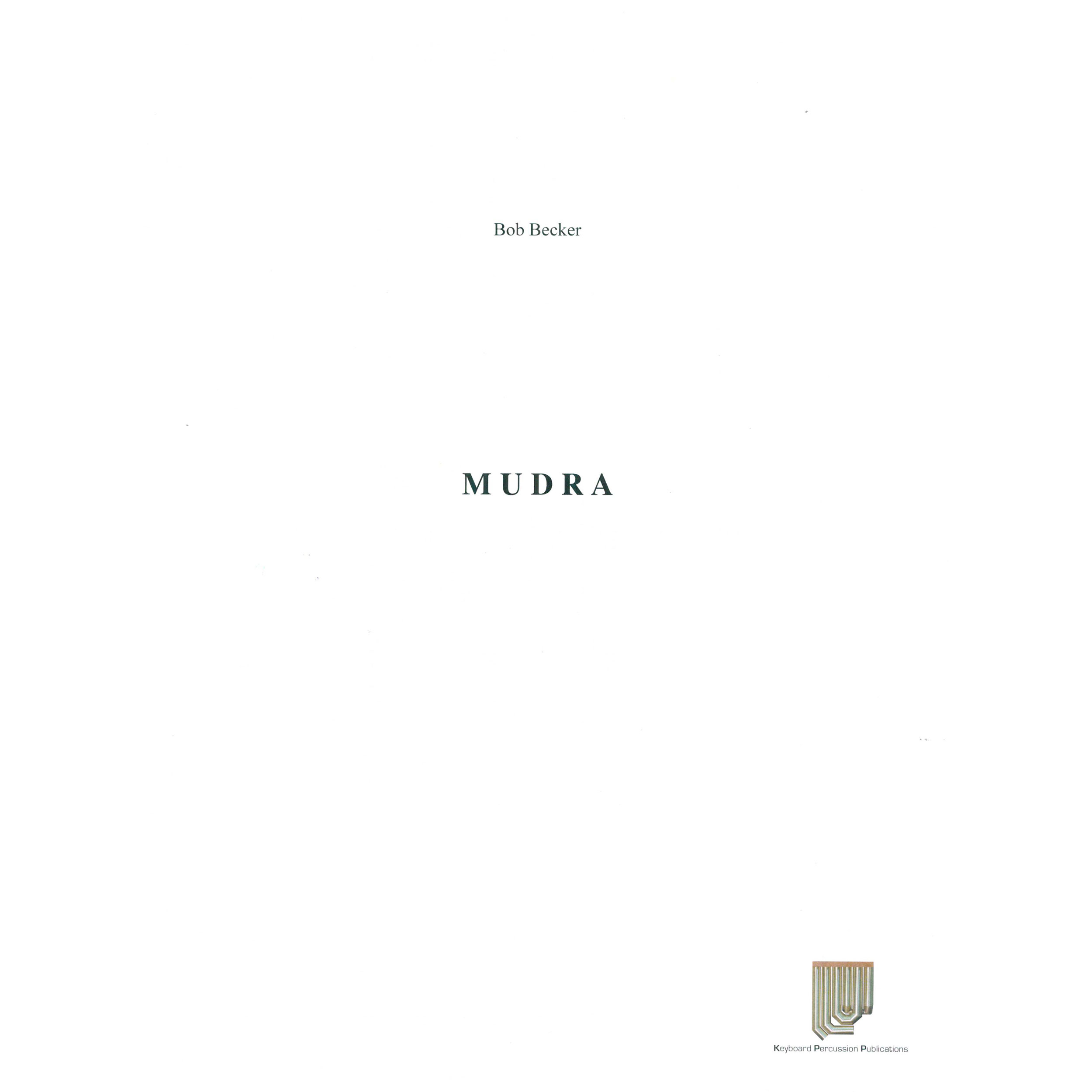 Mudra by Bob Becker