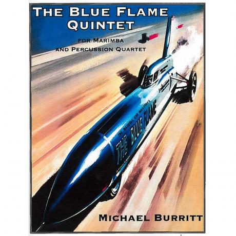 The Blue Flame Quintet by Michael Burritt