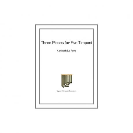 Three Etudes for Five Timpani by Raymond Helble