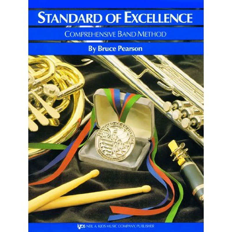 Standard of Excellence Book 2 - Drums & Mallets by Bruce Pearson