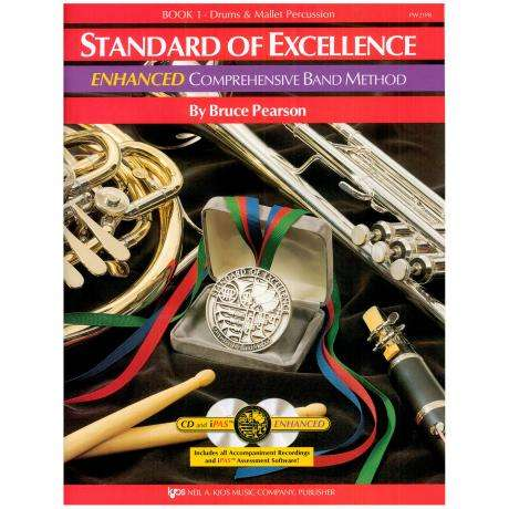 Standard of Excellence Book 1 - Drums & Mallet Percussion by Bruce Pearson