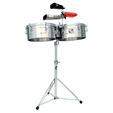 LP Tito Puente Stainless Steel Timbales