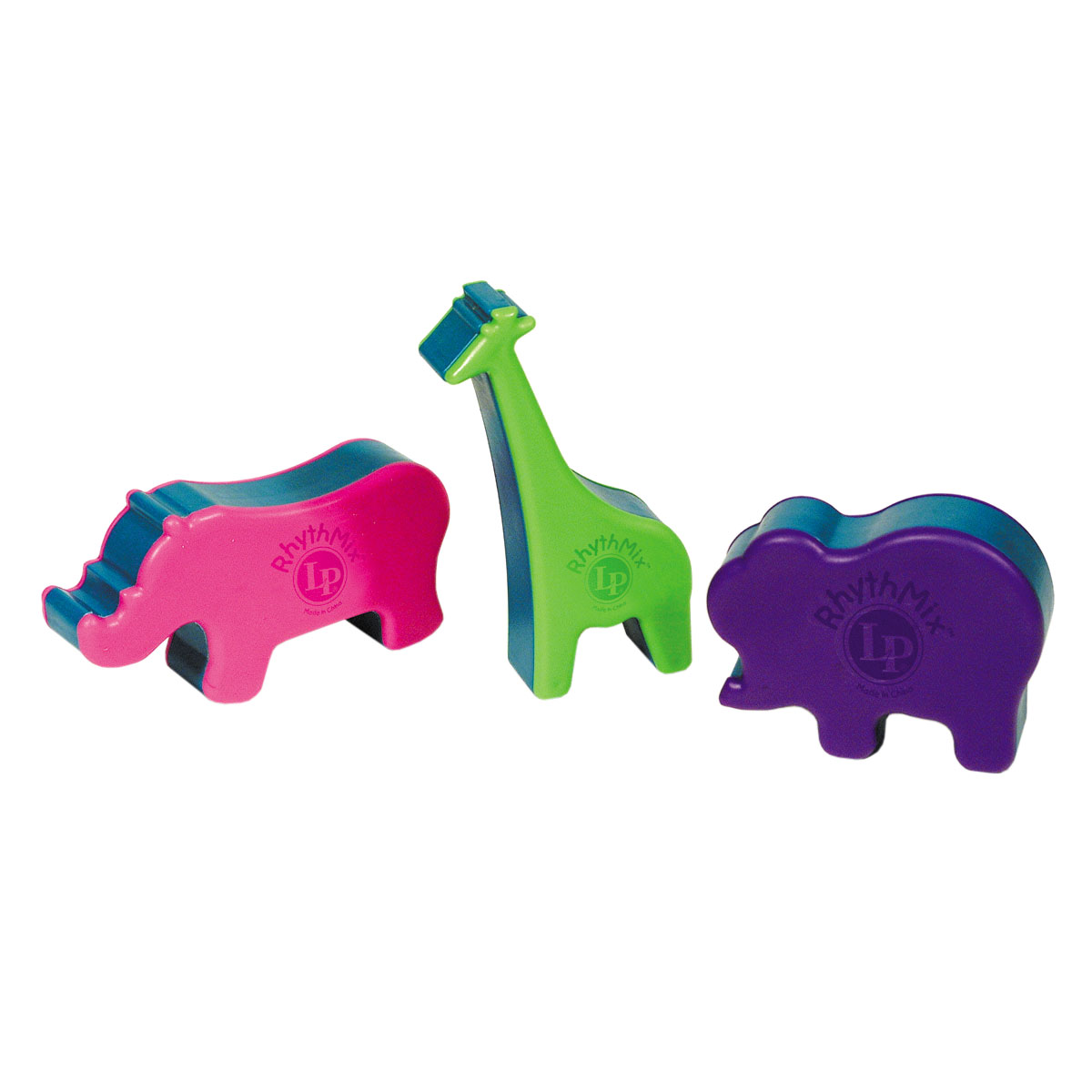 LP Plastic Animal Shakers, Set Of 3