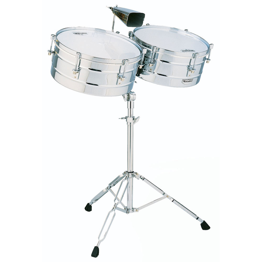 "LP 14"" & 15"" Matador Chrome Timbale Set"
