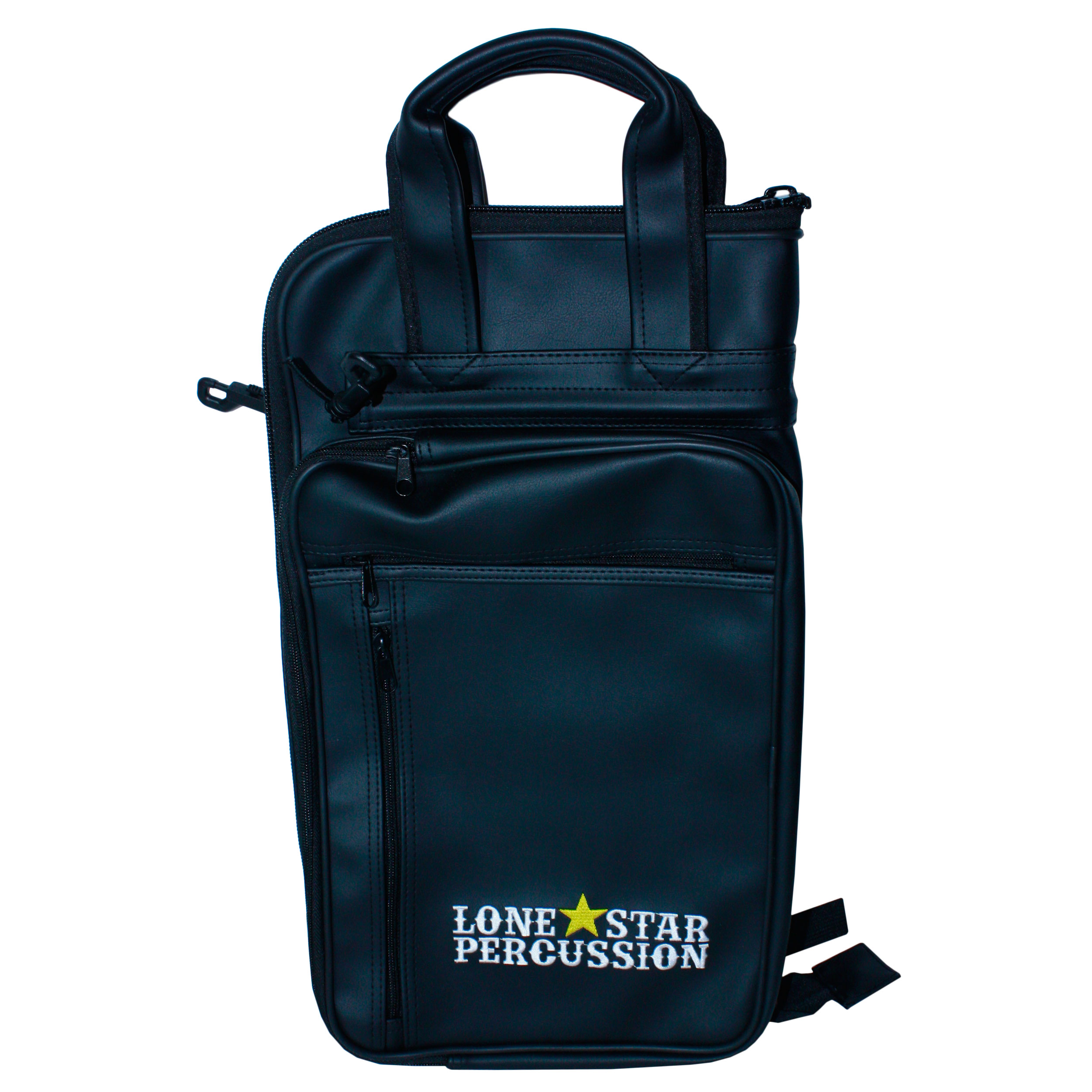 Lone Star Percussion Synthetic Leather Pro Stick Bag