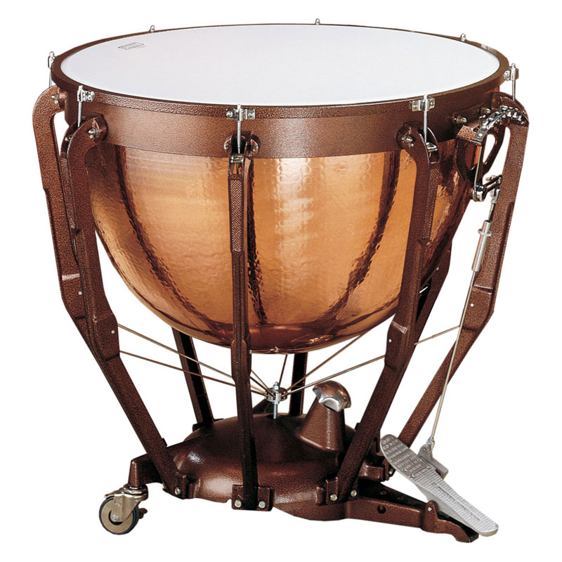 "Ludwig 32"" Professional Hammered Copper Timpani with Gauge"