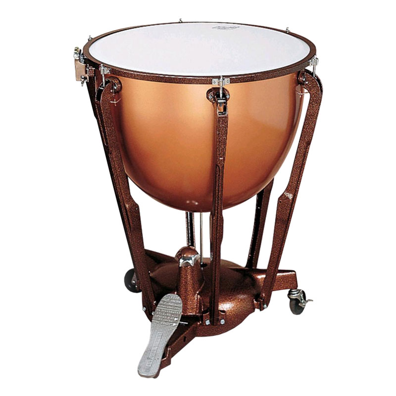 "Ludwig 20"" Standard Polished Copper Timpani with Pro Tuning Gauge"