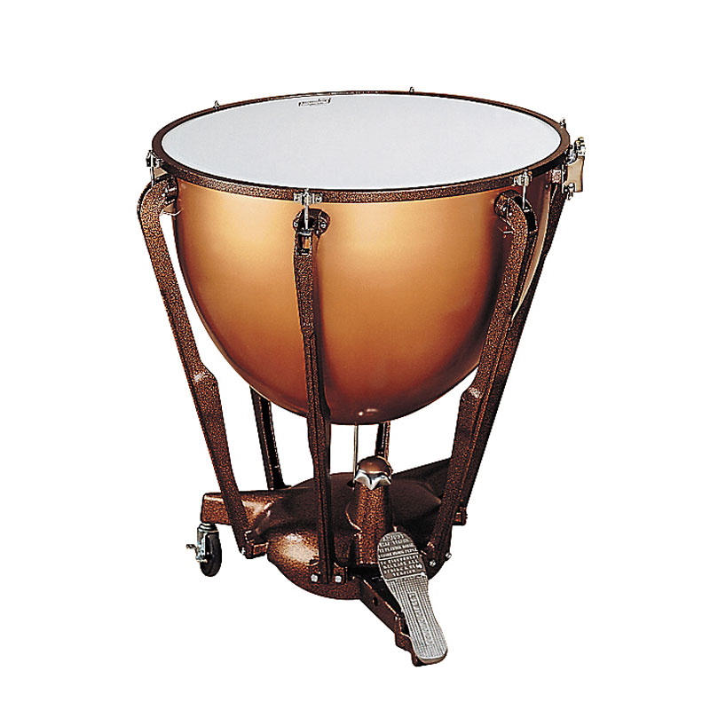 "Ludwig 23"" Standard Polished Copper Timpani with Pro Tuning Gauge"