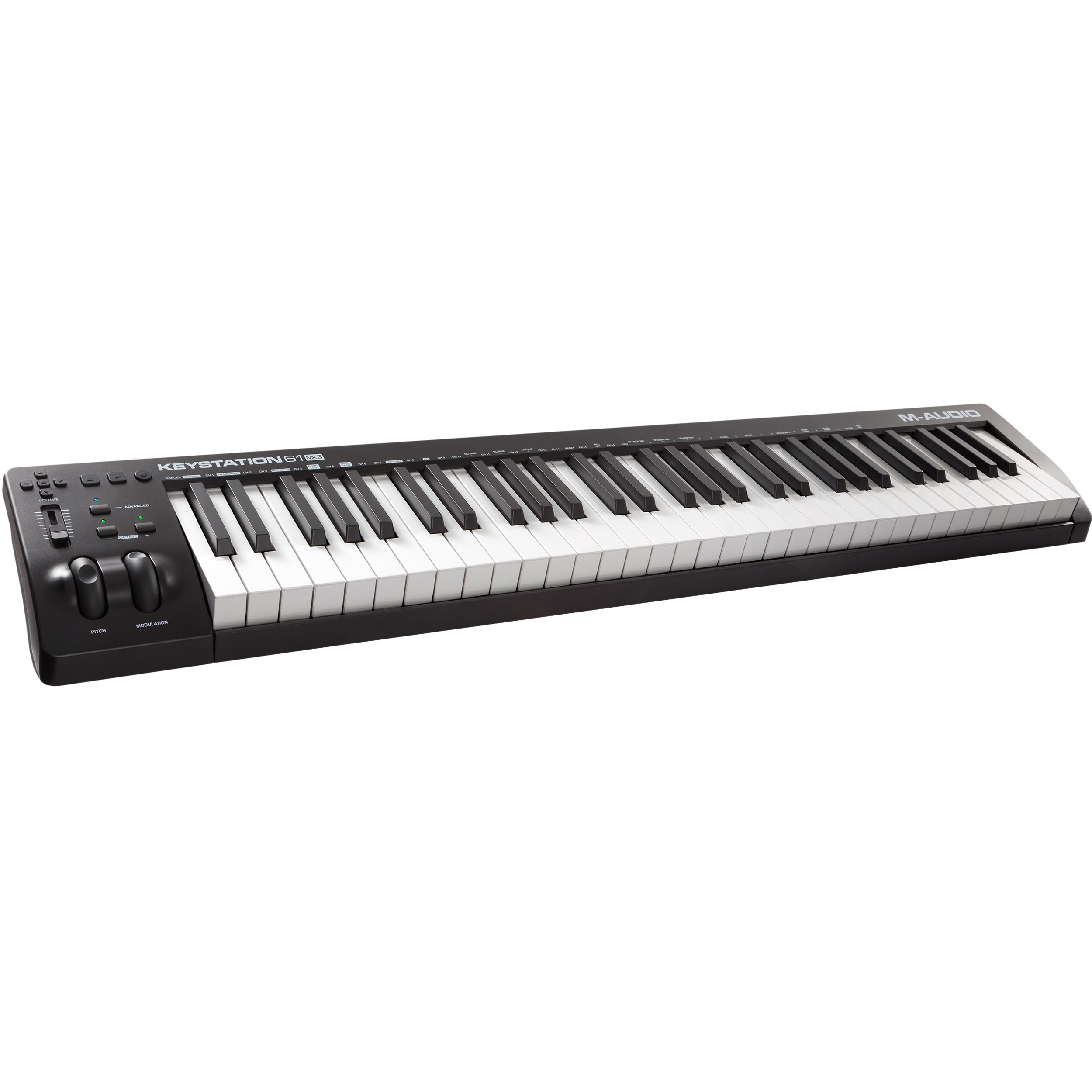 M-Audio 61-Key Keystation USB MIDI Keyboard Controller (MK3)