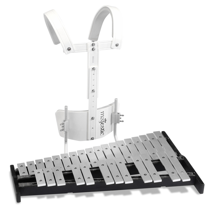Majestic 2.5 Octave Marching Bells with Carrier