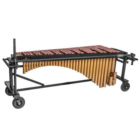 Majestic 4.6 Octave Quantum Marimba - Synthetic Bars, Field Frame