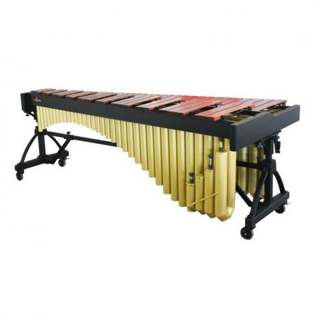 Majestic 5 Octave Artist Series Marimba - Rosewood Bars, Pro Model Geometry