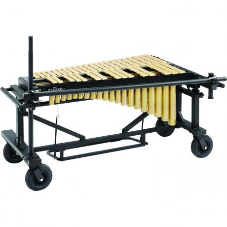 Majestic 3.0 Octave Gold Vibraphone on Field Frame