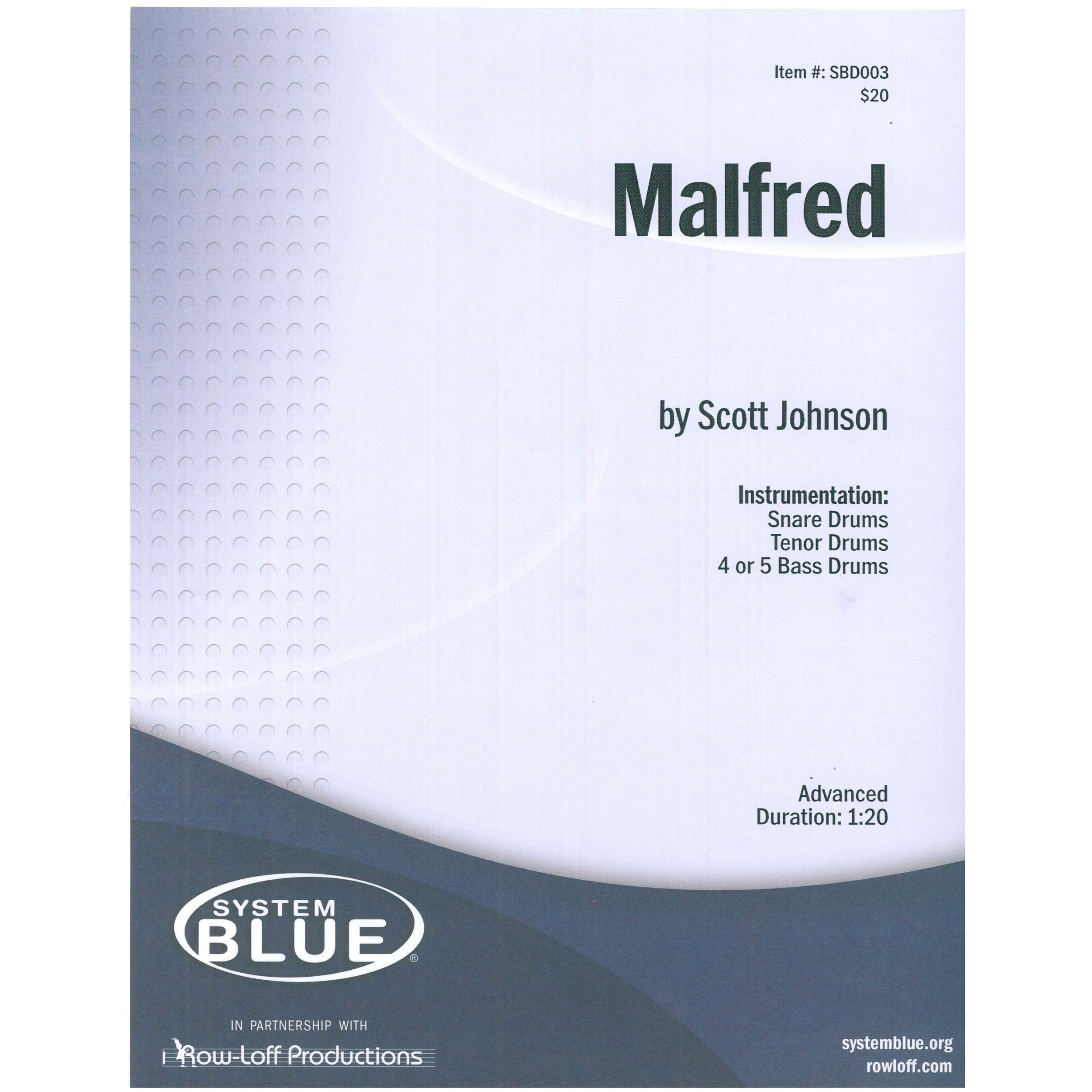 Malfred by Scott Johnson