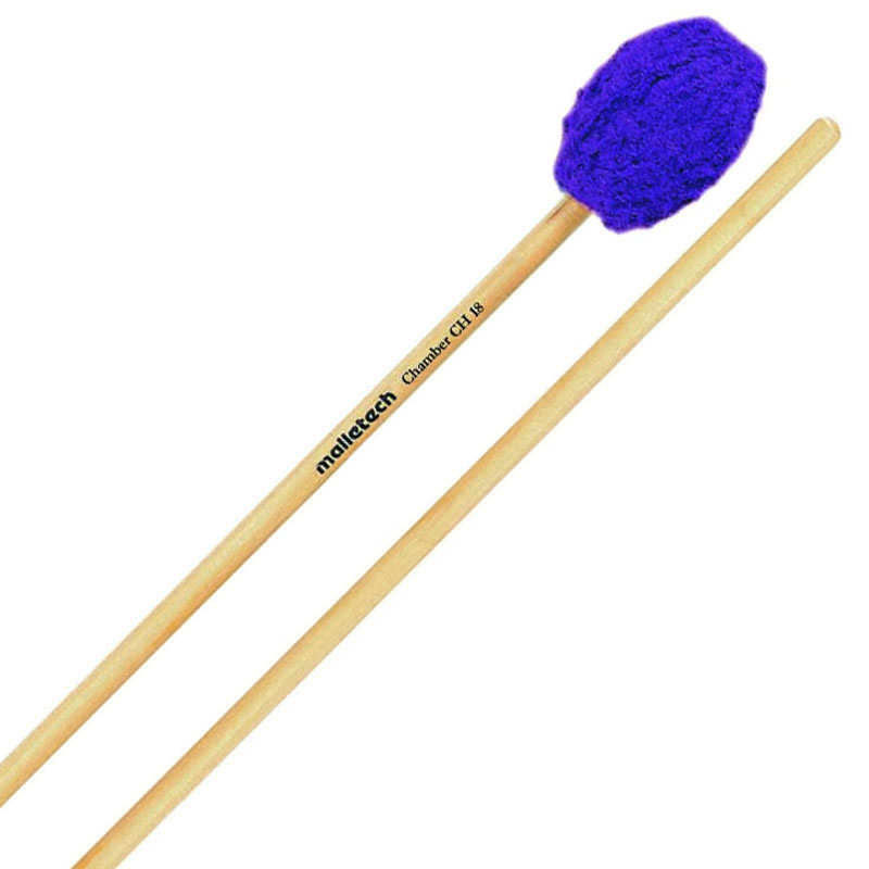 Malletech Chamber Series Medium Hard Marimba Mallets