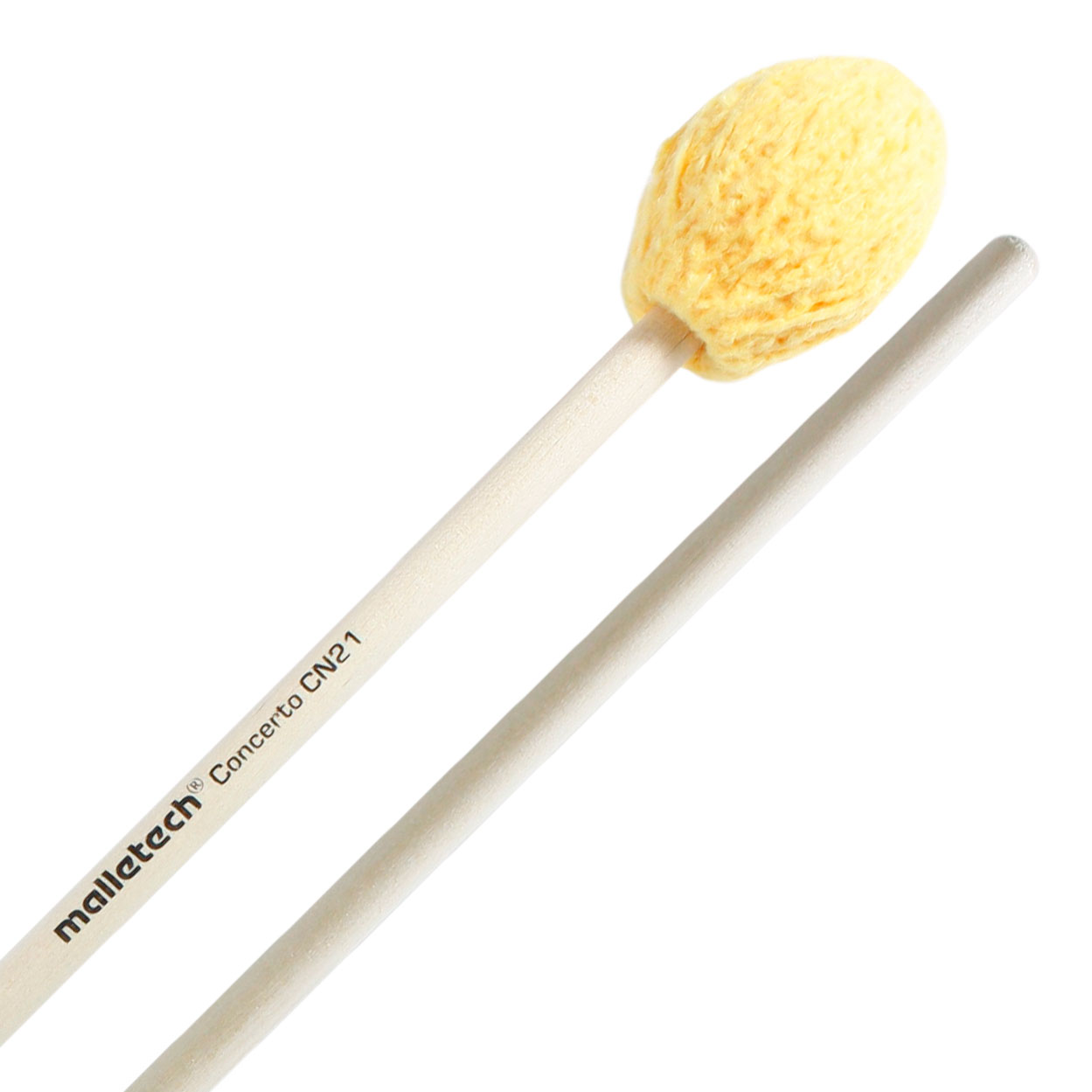 Malletech Concerto Series Hard Marimba Mallets with Birch Handles