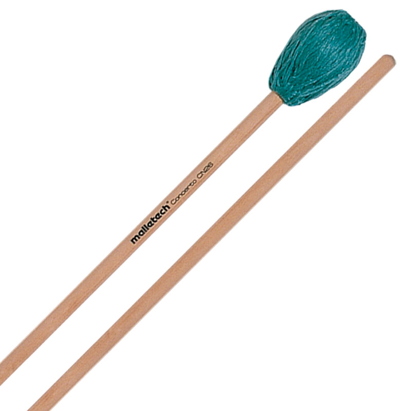 Malletech Concerto Series Very Hard Marimba Mallets with Rattan Handles