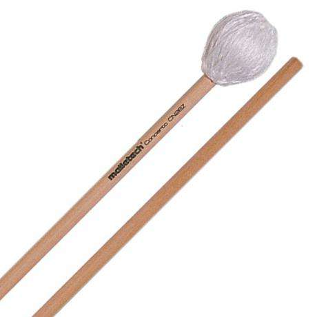 Malletech Concerto Series Two-Tone Marimba Mallets with Birch Handles