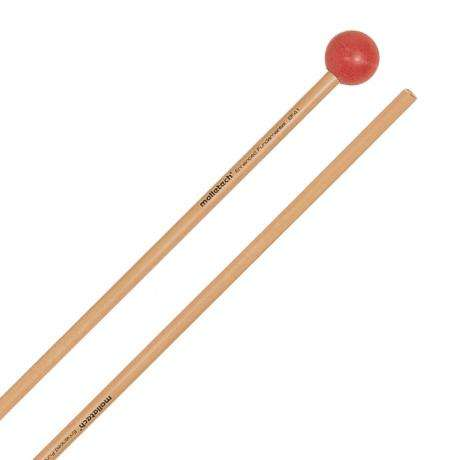 Malletech Enhanced Fundamental Hard Xylophone Mallets with Birch Shafts