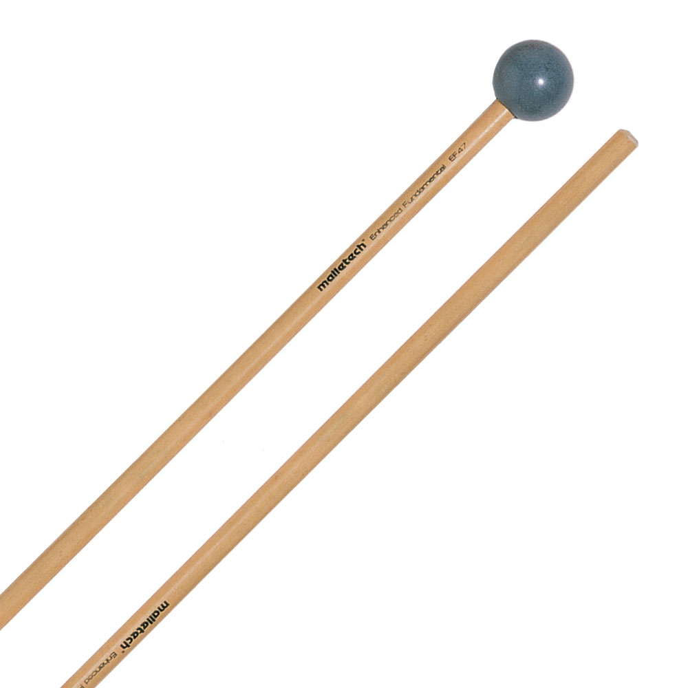 Malletech Enhanced Fundamental Very Hard Xylophone/Bell Mallets with Birch Shafts