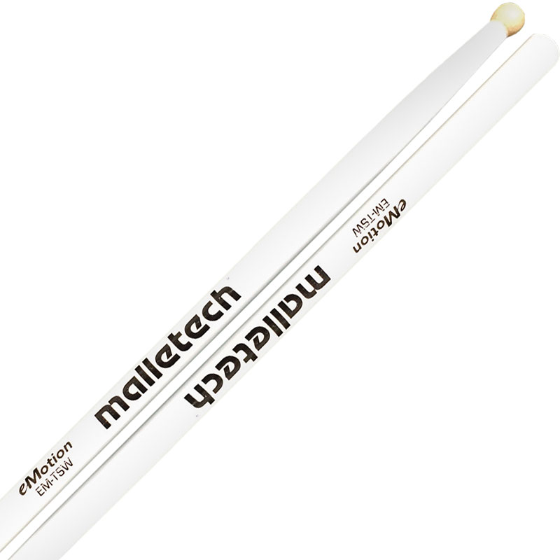 Malletech eMotion Series Marching Tenor Sticks with Wood Tips