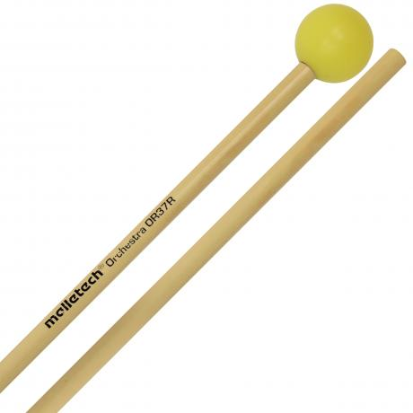 Malletech Orchestral Series Hard Xylophone Mallets with Rattan Shafts
