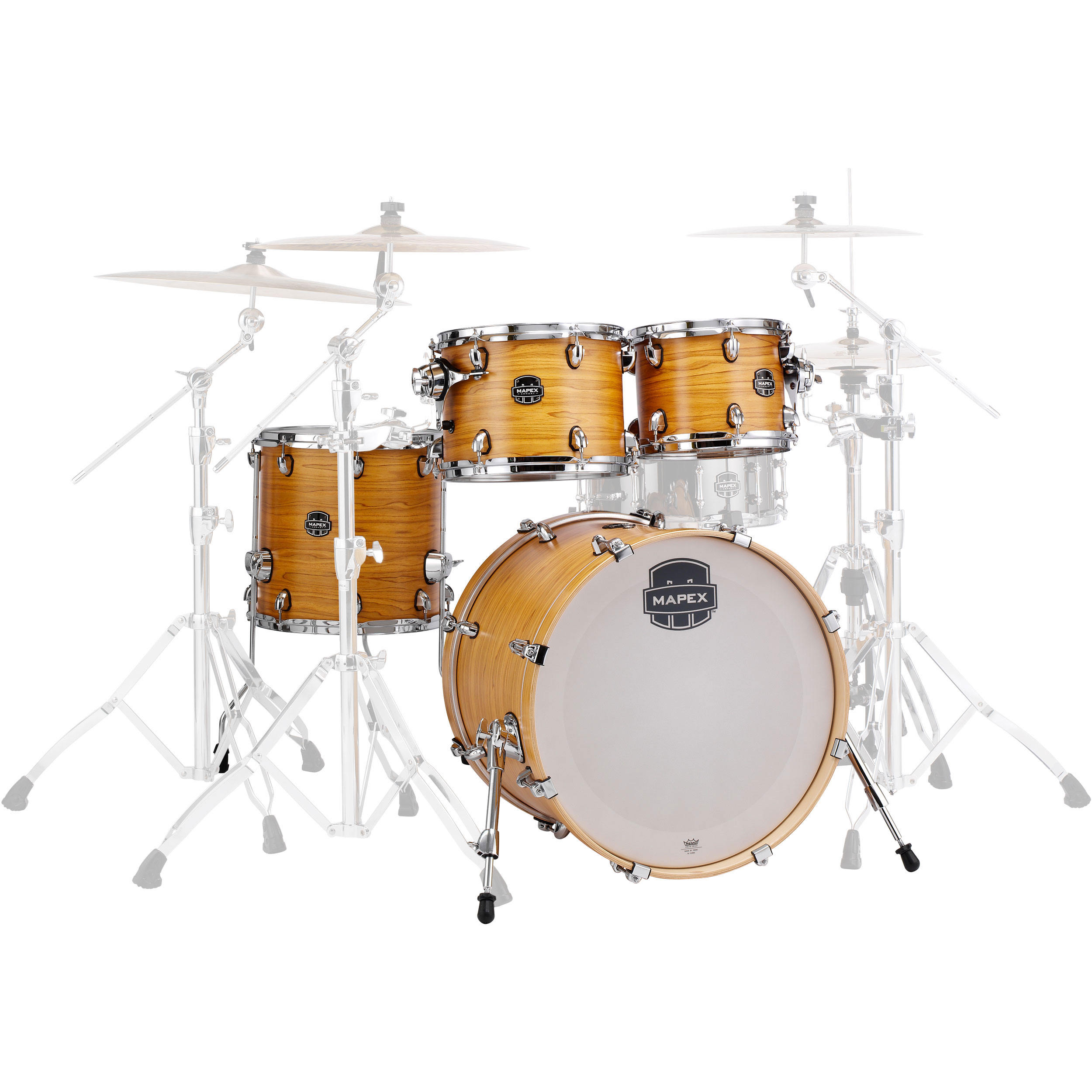 "Mapex Armory 5-Piece Fusion Drum Set Shell Pack (20"" Bass, 10/12/14"" Toms, 14"" Snare)"